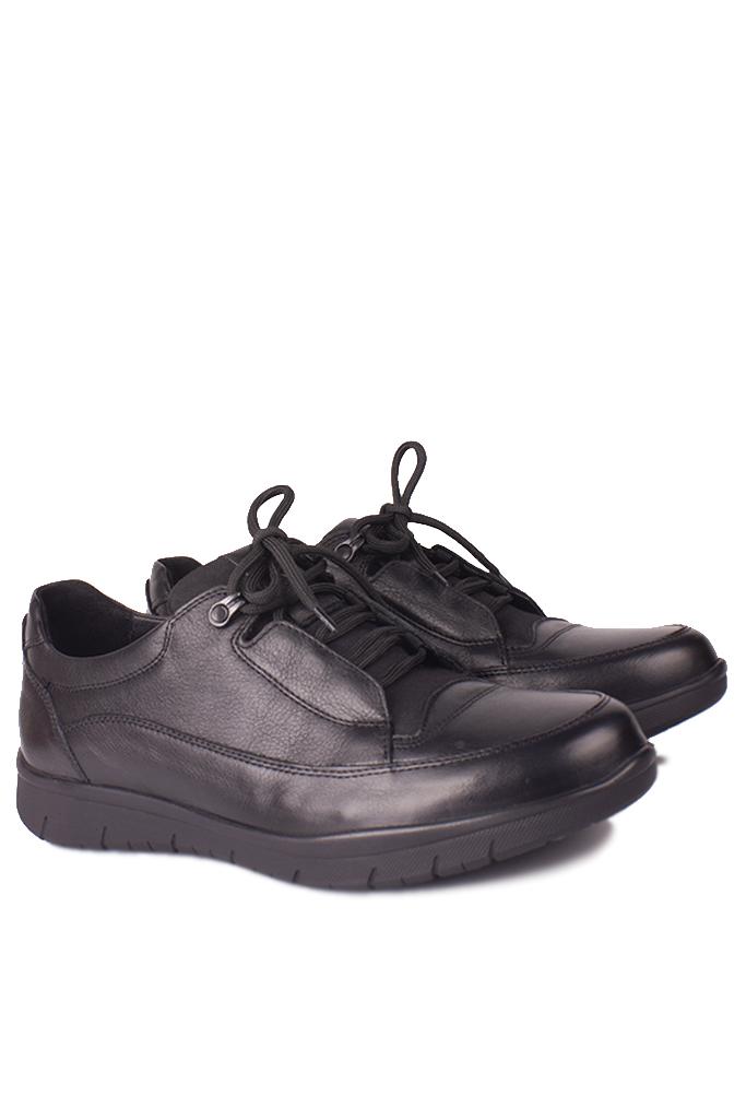 King Paolo 9534 014 Erkek Siyah Günlük Büyük Numara Ayakkabı