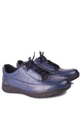 King Paolo 9534 424 Erkek Lacivert Günlük Büyük Numara Ayakkabı - Thumbnail