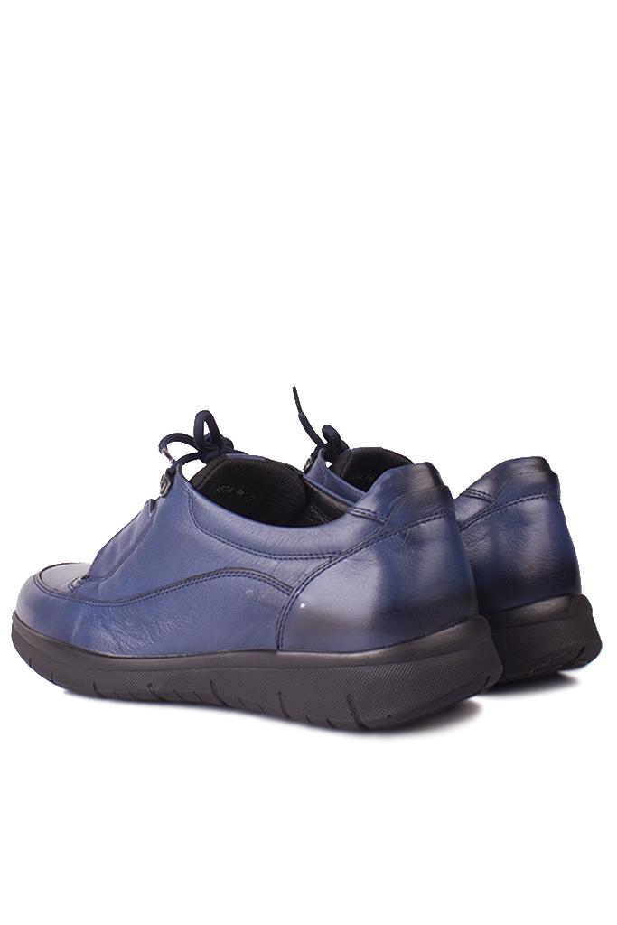 King Paolo 9534 424 Erkek Lacivert Günlük Büyük Numara Ayakkabı