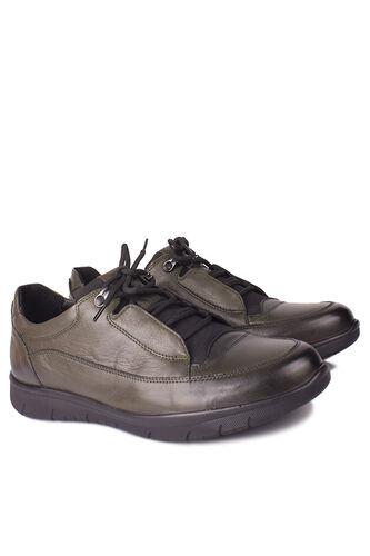 King Paolo - King Paolo 9534 677 Erkek Haki Günlük Büyük Numara Ayakkabı (1)