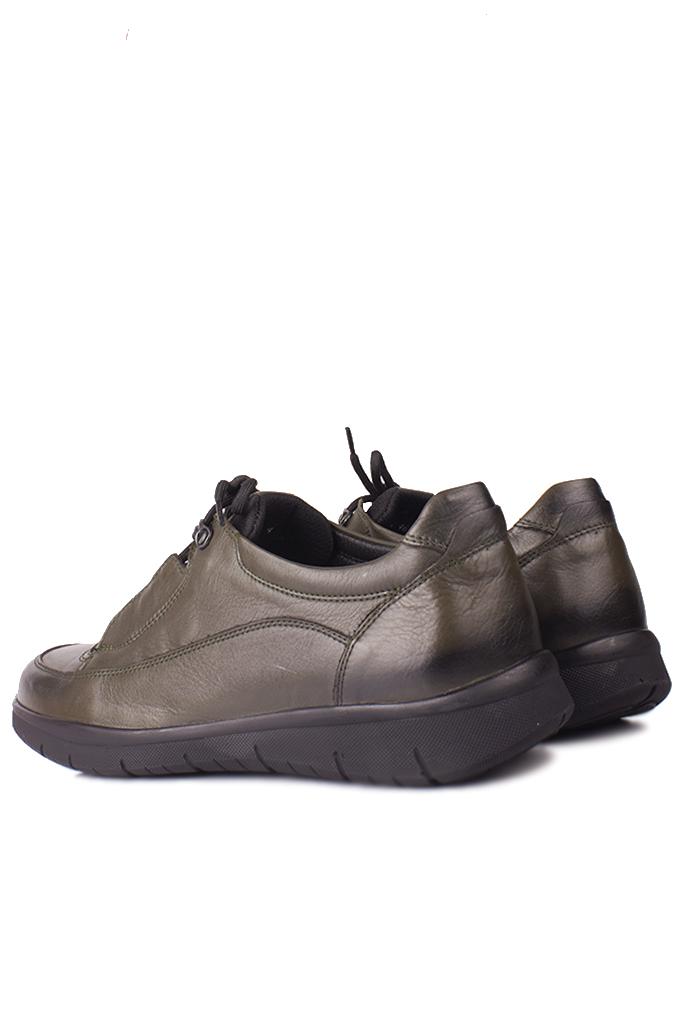 King Paolo 9534 677 Erkek Haki Günlük Büyük Numara Ayakkabı