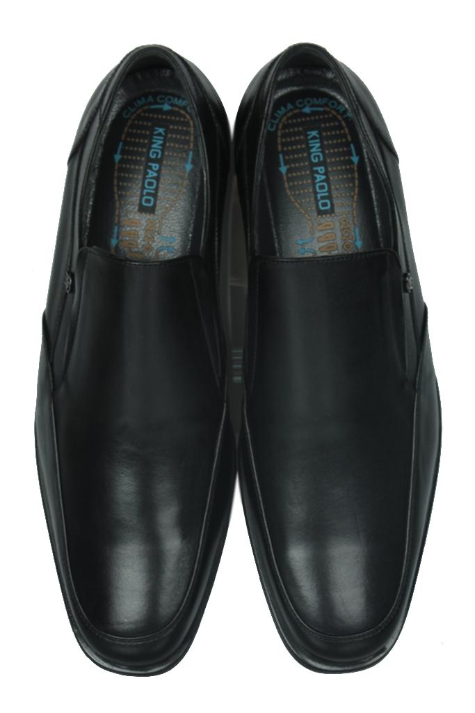 King Paolo 1310 014 Erkek Siyah Klasik Ayakkabı