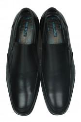 King Paolo 1310 014 Erkek Siyah Klasik Ayakkabı - Thumbnail