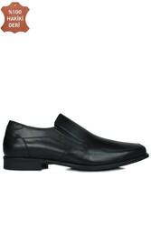 King Paolo 1310 014 Erkek Siyah Klasik Büyük Numara Ayakkabı - Thumbnail