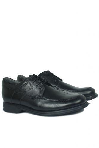 46 47 48 49 50 Büyük Numara Ayakkabı - King Paolo 305 013 Erkek Siyah Klasik Ayakkabı (1)