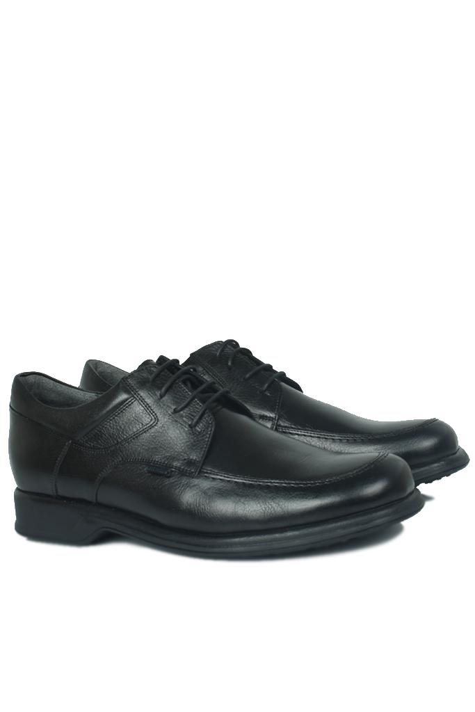 King Paolo 305 013 Erkek Siyah Klasik Ayakkabı