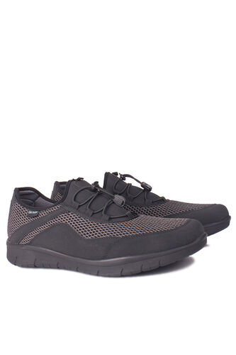 King Paolo - King Paolo 9213 027 Men Black File Casual Shoes (1)