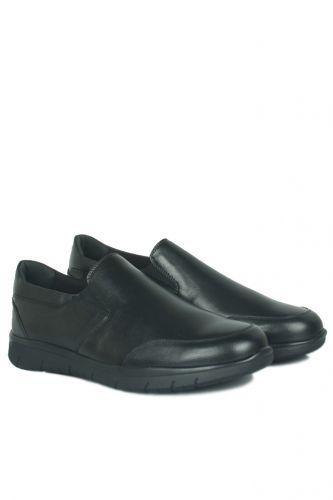 46 47 48 49 50 Büyük Numara Ayakkabı - King Paolo 9219 014 Erkek Siyah Günlük Ayakkabı (1)