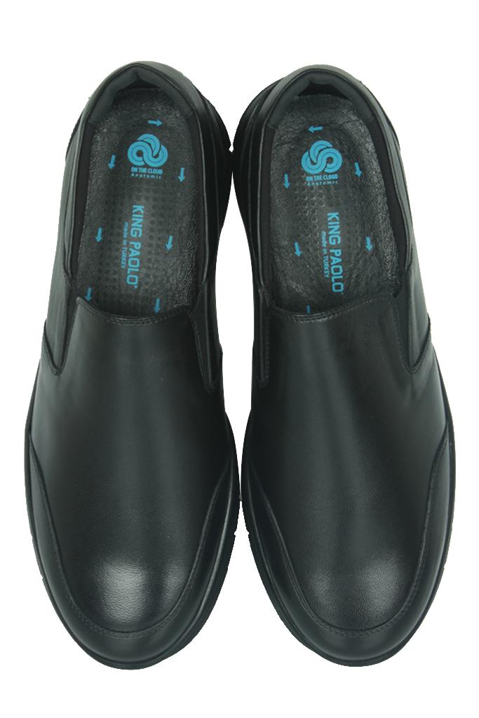 King Paolo 9219 014 Erkek Siyah Günlük Ayakkabı