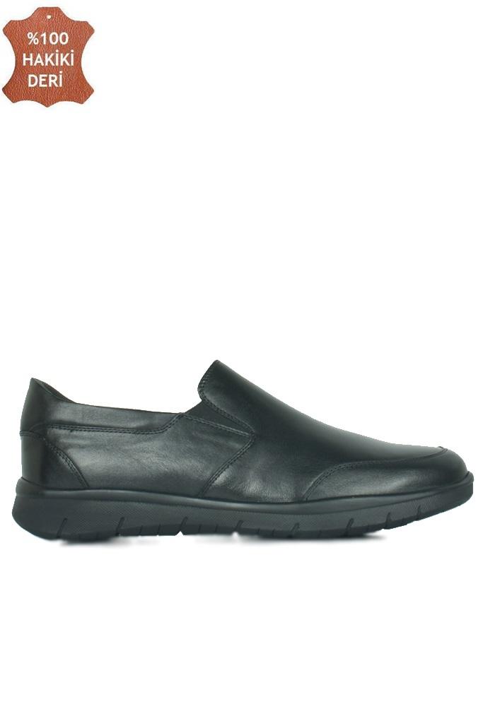King Paolo 9219 014 Erkek Siyah Günlük Büyük Numara Ayakkabı