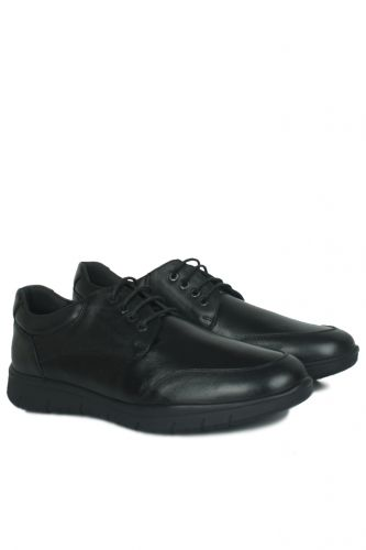46 47 48 49 50 Büyük Numara Ayakkabı - King Paolo 9220 014 Erkek Siyah Günlük Ayakkabı (1)