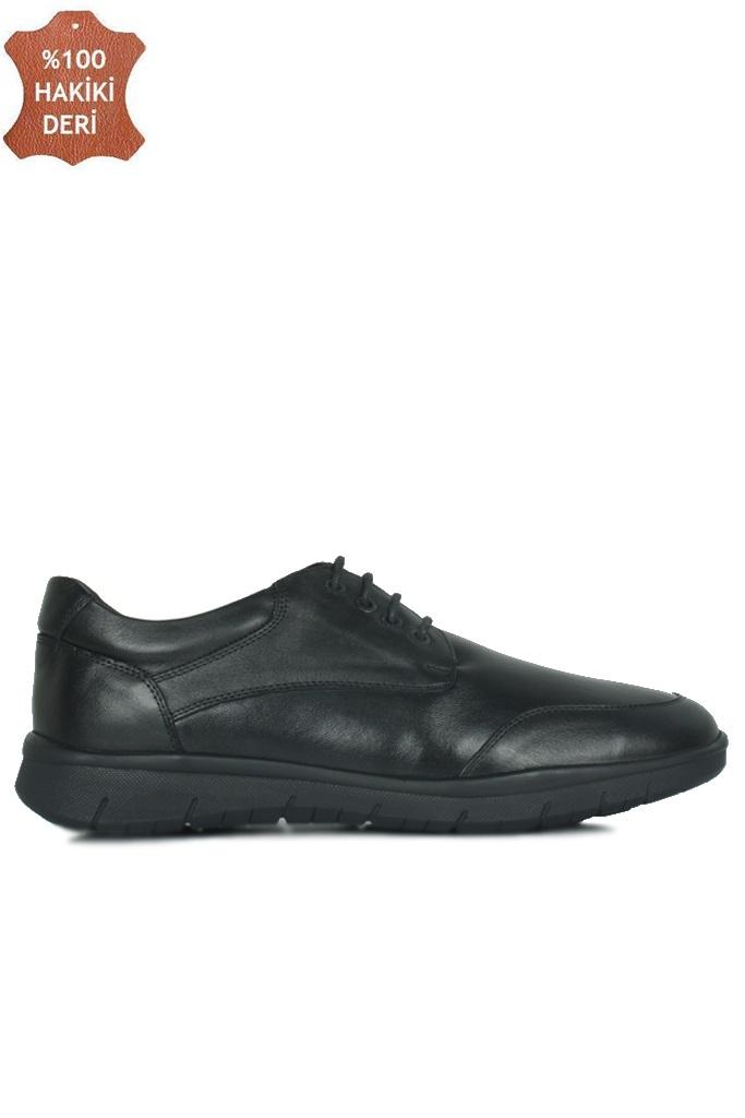 King Paolo 9220 014 Erkek Siyah Günlük Büyük Numara Ayakkabı