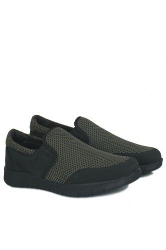 46 47 48 49 50 Büyük Numara Ayakkabı - King Paolo 9264 701 Erkek Haki Günlük Ayakkabı (1)