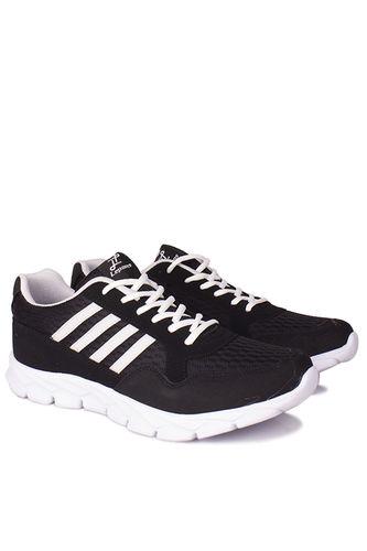 Lepons - Lepons 392108 015 Erkek Siyah Beyaz Spor 45 46 47 48 Büyük Numara Ayakkabı (1)