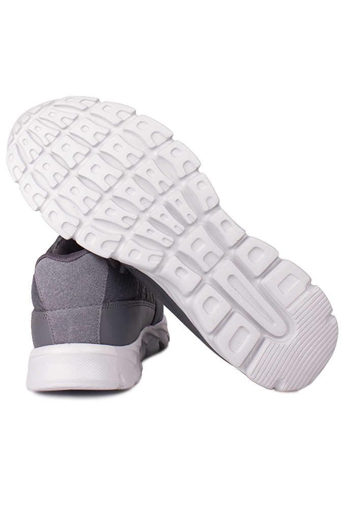 Lepons 392108 515 Erkek Gri Spor 45 46 47 48 Büyük Numara Ayakkabı
