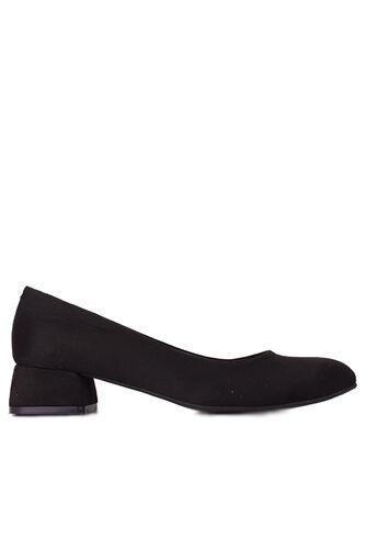 Fitbas 111301 008 Kadın Süet Siyah Büyük & Küçük Numara Ayakkabı