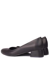 Fitbas 111301 014 Kadın Siyah Büyük & Küçük Numara Ayakkabı - Thumbnail