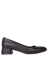 Loggalin 111301 014 Kadın Siyah Büyük & Küçük Numara Ayakkabı - Thumbnail