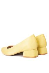 Fitbas 111301 127 Kadın Limon Sarı Süet Büyük & Küçük Numara Ayakkabı - Thumbnail