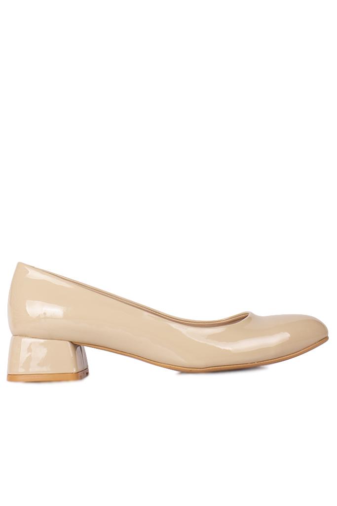 Fitbas 111301 320 Kadın Ten Rugan Büyük & Küçük Numara Ayakkabı