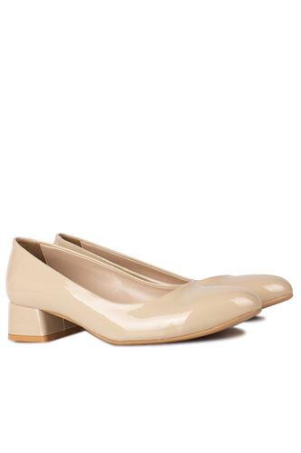 Fitbas - Fitbas 111301 320 Kadın Ten Rugan Büyük & Küçük Numara Ayakkabı (1)