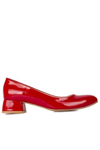 Fitbas 111301 520 Kadın Kırmızı Rugan Büyük & Küçük Numara Ayakkabı