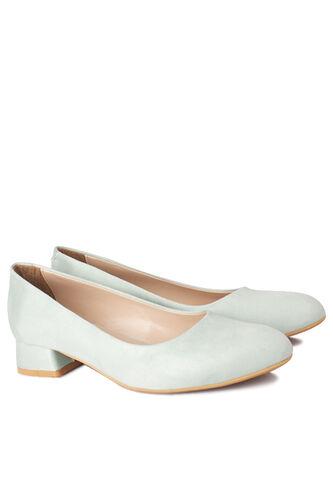 Loggalin - Loggalin 111301 673 Kadın Yeşil Süet Ayakkabı (1)