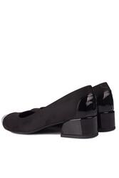 Fitbas 111304 015 Kadın Siyah Büyük & Küçük Numara Ayakkabı - Thumbnail
