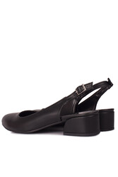 Fitbas 111306 014 Kadın Siyah Büyük & Küçük Numara Ayakkabı - Thumbnail