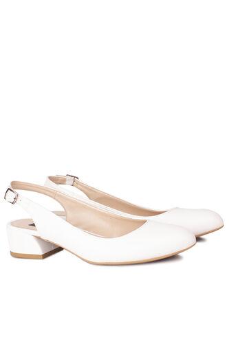 Fitbas - Fitbas 111306 468 Kadın Beyaz Büyük & Küçük Numara Ayakkabı (1)
