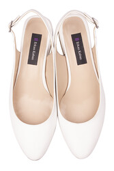 Fitbas 111306 468 Kadın Beyaz Büyük & Küçük Numara Ayakkabı - Thumbnail
