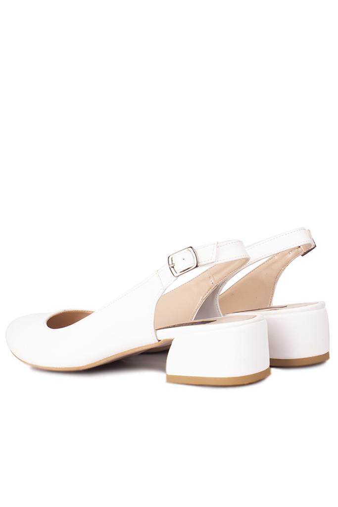Loggalin 111306 468 Kadın Beyaz Büyük & Küçük Numara Ayakkabı