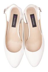 Loggalin 111306 468 Kadın Beyaz Büyük & Küçük Numara Ayakkabı - Thumbnail