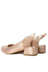 Fitbas 111306 721 Kadın Altın Büyük & Küçük Numara Ayakkabı - Thumbnail