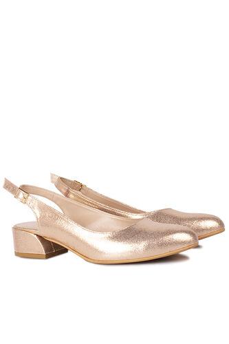 Loggalin - Loggalin 111306 721 Kadın Altın Büyük & Küçük Numara Ayakkabı (1)