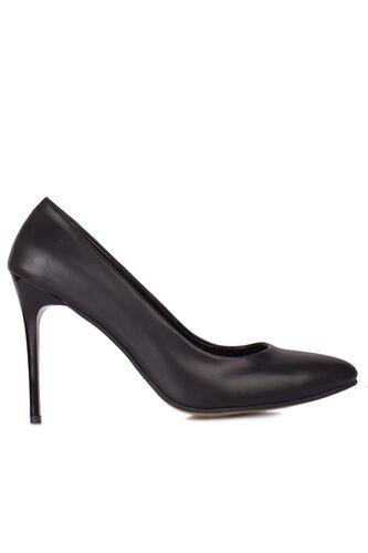 Loggalin 111500 014 Kadın Siyah Büyük & Küçük Numara Stiletto