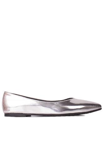 Fitbas - Fitbas 112001 770 Kadın Gümüş Büyük & Küçük Numara Babet (1)