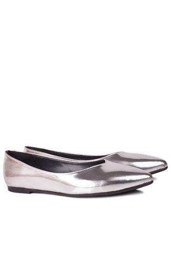 Fitbas 112001 770 Kadın Gümüş Büyük & Küçük Numara Babet