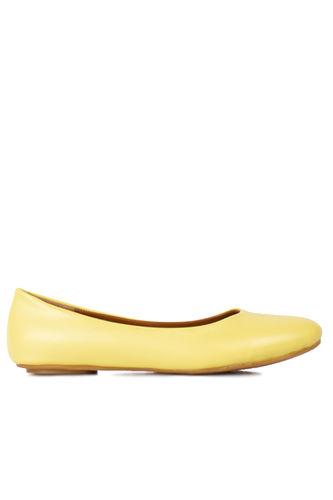 Fitbas 112008 125 Kadın Sarı Büyük & Küçük Numara Babet