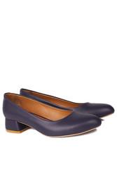 Fitbas 112301 418 Kadın Lacivert Büyük & Küçük Numara Ayakkabı - Thumbnail