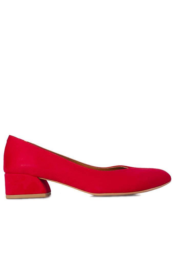 Fitbas 112302 527 Kadın Kırmızı Büyük & Küçük Numara Ayakkabı