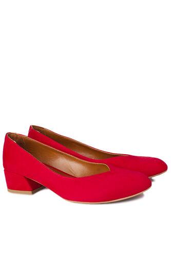 Loggalin - Loggalin 112302 527 Kadın Kırmızı Büyük & Küçük Numara Ayakkabı (1)
