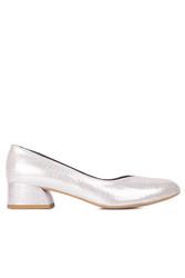 Fitbas 112302 771 Kadın Gümüş Büyük & Küçük Numara Ayakkabı - Thumbnail