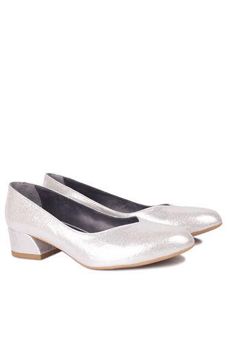 Fitbas 112302 771 Kadın Gümüş Büyük & Küçük Numara Ayakkabı