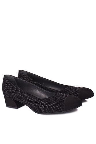 5 - Loggalin 112303 025 Kadın Siyah Ayakkabı (1)