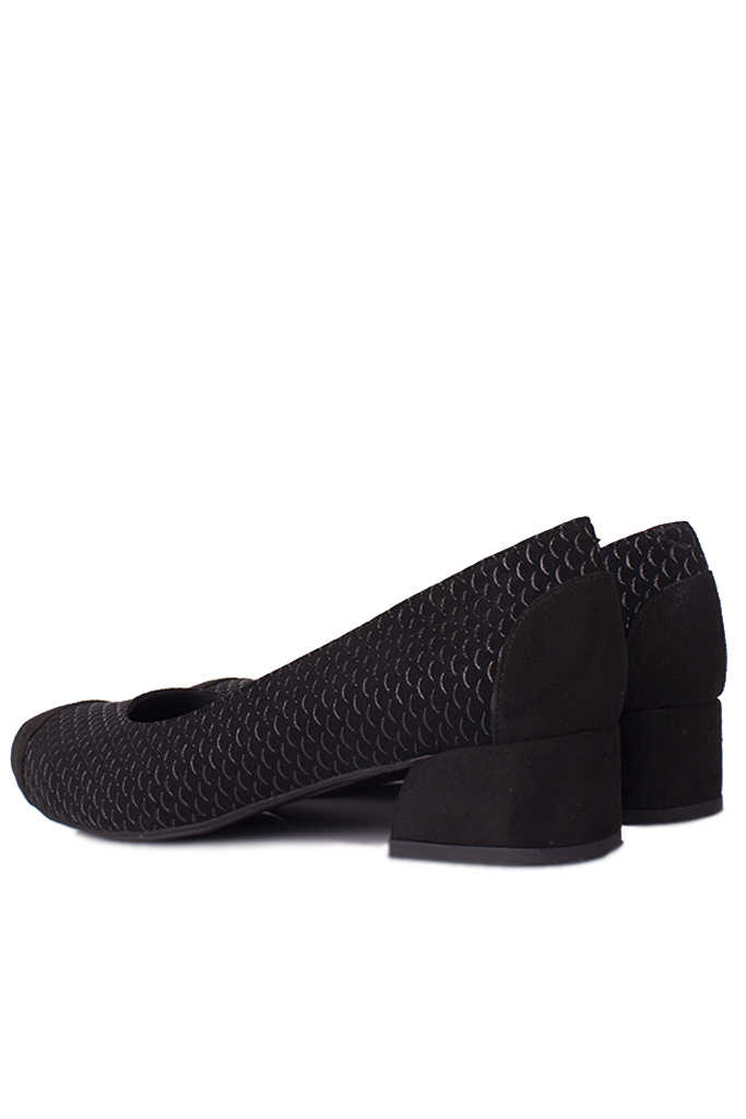 Fitbas 112303 025 Kadın Siyah Büyük & Küçük Numara Ayakkabı