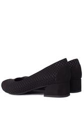 Fitbas 112303 025 Kadın Siyah Büyük & Küçük Numara Ayakkabı - Thumbnail