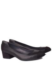 Fitbas 112304 025 Kadın Siyah Büyük & Küçük Numara Ayakkabı - Thumbnail