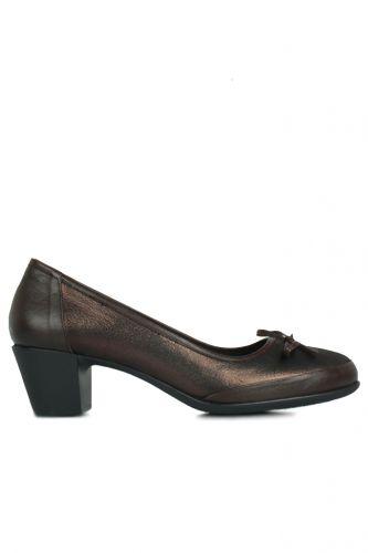 Fitbas - Fitbas 119416 729 Kadın Bakır Deri Büyük Numara Ayakkabı (1)