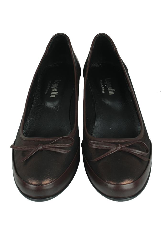Fitbas 119416 729 Kadın Bakır Deri Büyük Numara Ayakkabı